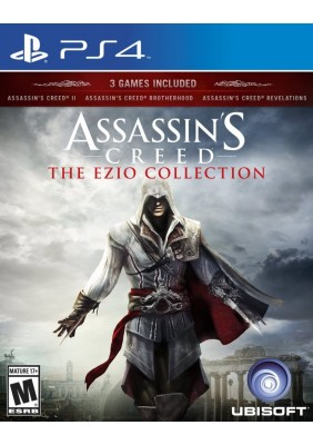 Assassins Creed The Ezio Collection Ps4 Oyun