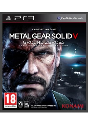 Metal Gear Solid 5 Ground Zeroes Ps3 Oyun