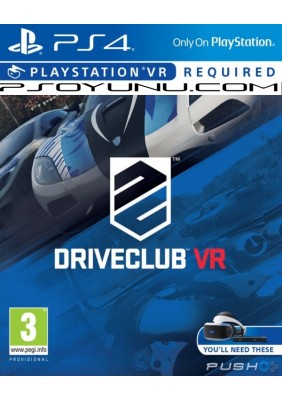 Driveclub Ps4 VR Oyun
