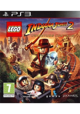 Lego İndiana Jones 2 Ps3 Oyun