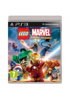 LEGO Marvel Super Heroes PS3 oyun