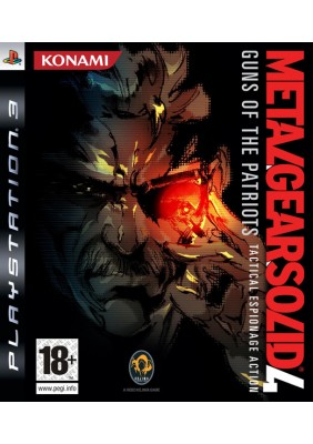 Metal Gear Solid 4 Guns Of The Patriots Ps3 Oyun