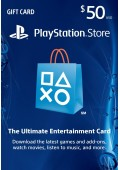 PSN Card 50$ Playstation 50 Dolarlık Gift Card