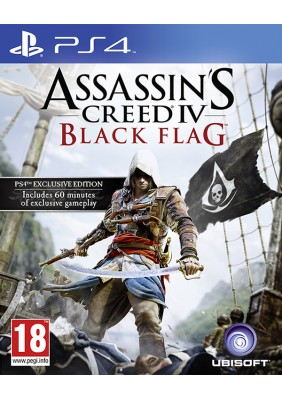 Assasins Creed 4 Black Flag PS4 oyun